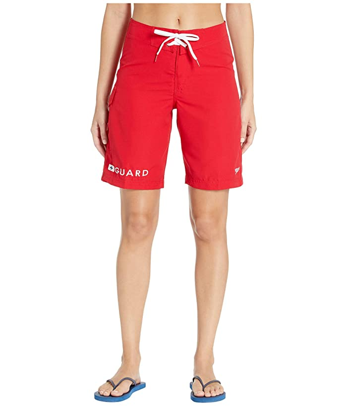 Speedo Guard 21 Boardshort (Red) Women