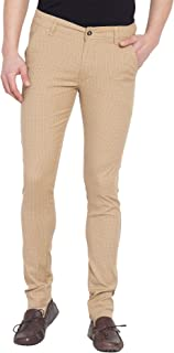 American-Elm Men's Stratchable Cotton Casual Trousers/Chinos
