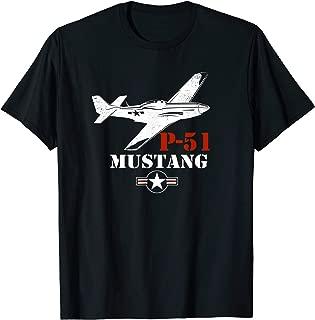 P-51 Mustang Fighter Airplane T-Shirt T-Shirt