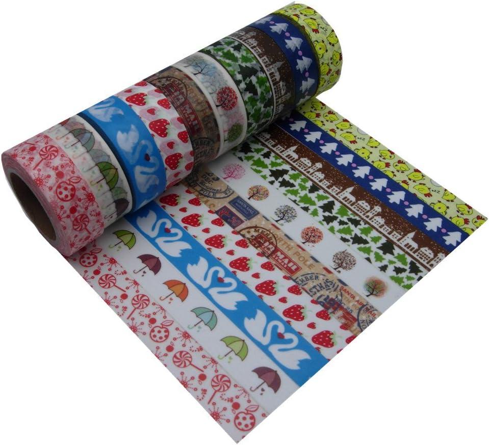 15mm10m Fresh Floral Washi Tape Max 47% OFF Decorative DIY Soldering Mask Scrapbooking