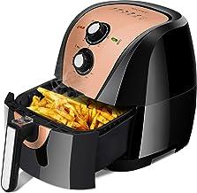 Secura Air Fryer XL 5.3 Quart 1700-Watt Electric Hot Air Fryers Oven Oil Free Nonstick Cooker w/Additional Accessories, Re...
