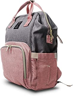 Diaper Bag Backpack,Multifunction Maternity Travel Baby Nappy Bags, Waterproof and Portable.