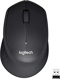 Logitech M330 Silent Plus Wireless Mouse, 2.4GHz with USB Nano Receiver, 1000 DPI Optical Tracking, 3 Buttons, 24 Month Li...