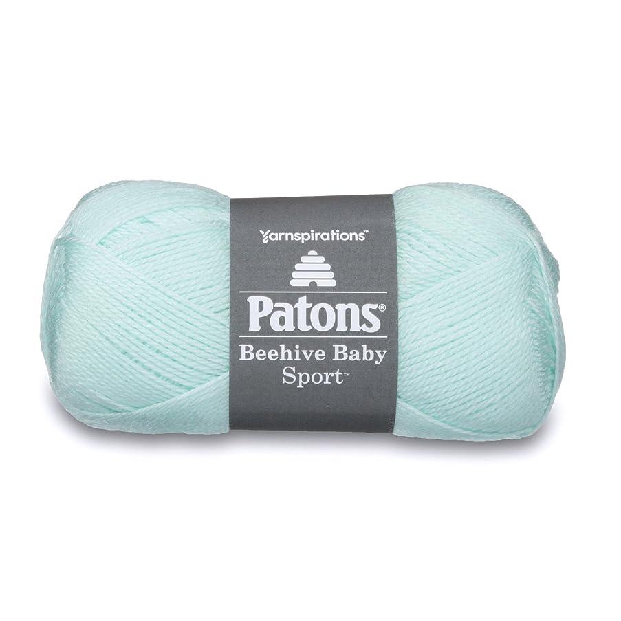 Patons Beehive Baby Sport Yarn, 3.5 oz, Delicate Green, 1 Ball