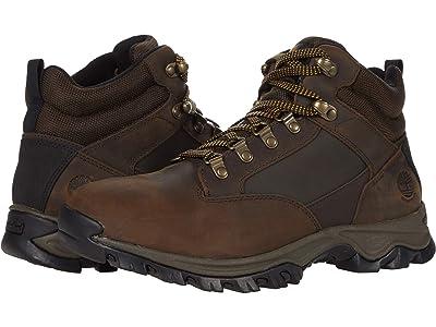 Timberland Keele Ridge Waterproof Leather Mid (Medium Brown) Men