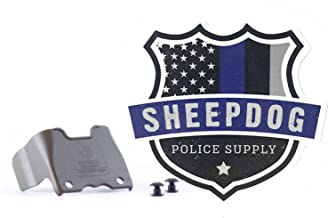 Sheepdog Police Supply Logo Sticker and Eleven 10 Shirt Shield for Rigid TQ Tourniquet Case