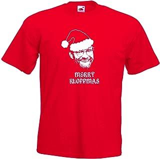 Merry Kloppmass Christmas Jurgen Klopp of Liverpool FC Football Club T-Shirt