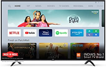 Mi TV 4A PRO 80 cm 32 inches HD Ready Android LED TV Black With Data Saver