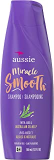 Aussie For Frizzy Hair Miracle Smooth Shampoo with Aloe & Kelp 12.1 oz