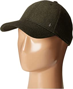 Wool Herringbone Ball Cap
