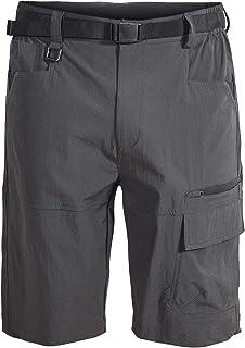 Mr.Stream Men's Bermuda Beach Jogging Quick Drying Outdoor Casual Multi Pocket Stretch Cargo Shorts