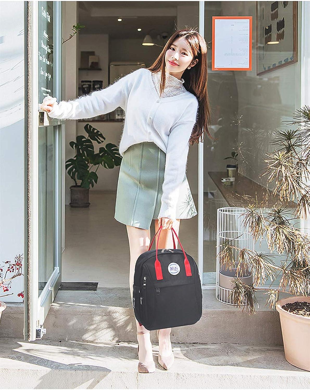 QWKZH Mama Tasche Rucksack Multifunktions-Handtaschen mit groer Kapazitt Mode Baby aus der Mutter Tasche