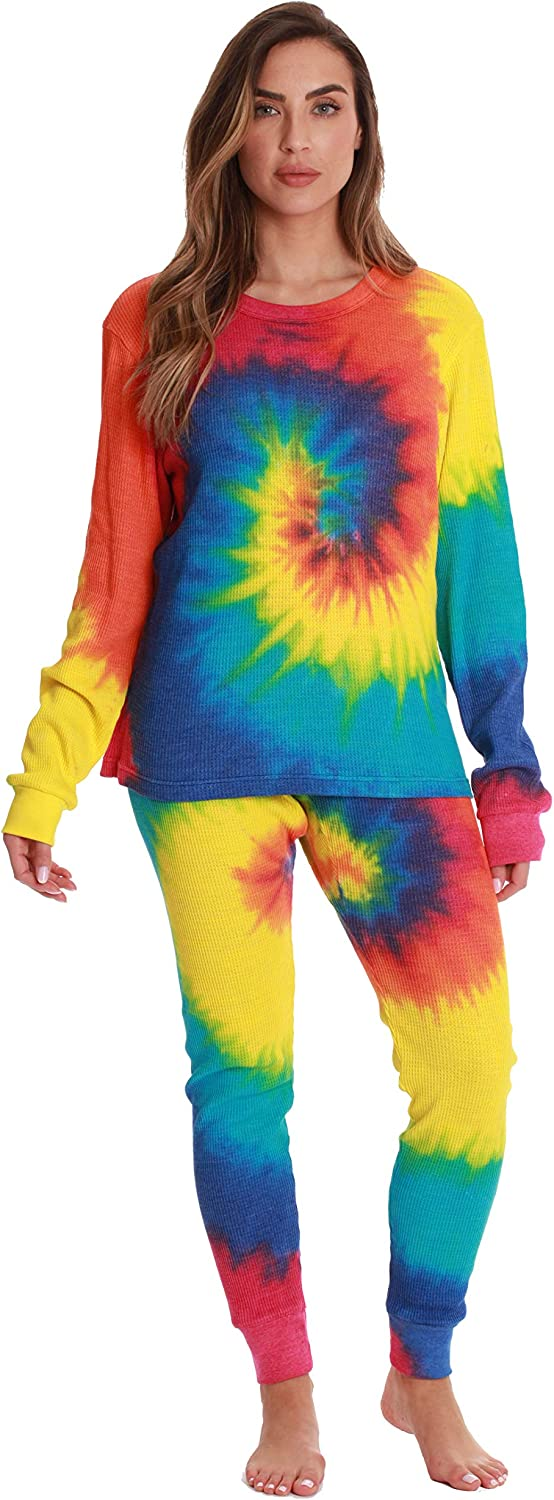 Just Love Family Thermal Sets – Rainbow Tie dye
