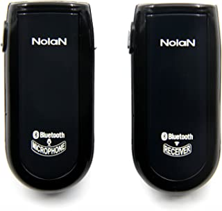 Nolan MICRX Bluetooth Wireless Microphone and Receiver Sets, Total solution of Wireless audio and voice with Long range, Low latency, Clarity sound, Lip sync for real time Podcasting, Presentation, Panel Session, Distance Education, Conference, Remote hearing aids, Voice and Video Recording, Camcorder, YouTube, VoIP and more