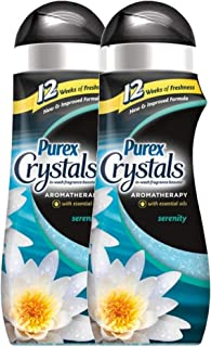 Purex Crystals Scent Enhancer Aromatherapy Serenity, 18 Oz / 510 Grams Ea. - 2 Packs