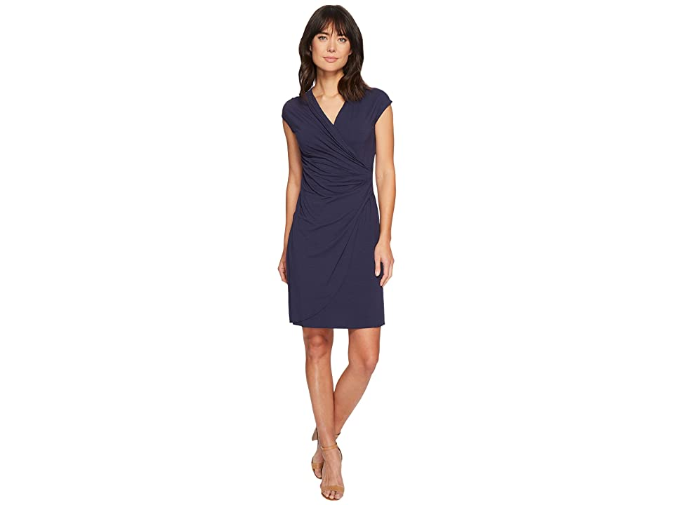 Tommy Bahama - Tommy Bahama Tambour Side Gathered Dress