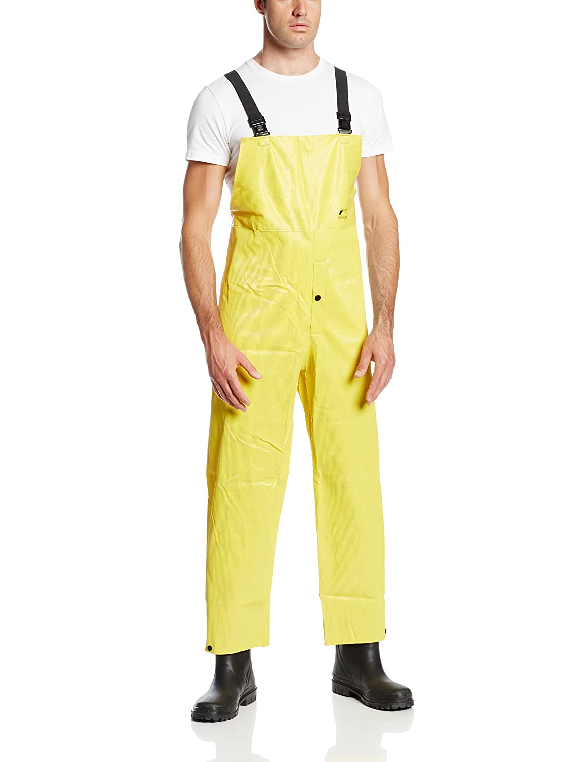 ONGUARD 76052 PVC on Max 54% OFF Polyester Bib Overall Snap Fly Front Bombing free shipping with