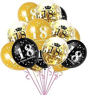 Globos en 3 Colores Diferentes para Adultos y ni/ños Aniversario thematys/® Happy Anniversary Globo de Fiesta Style 3