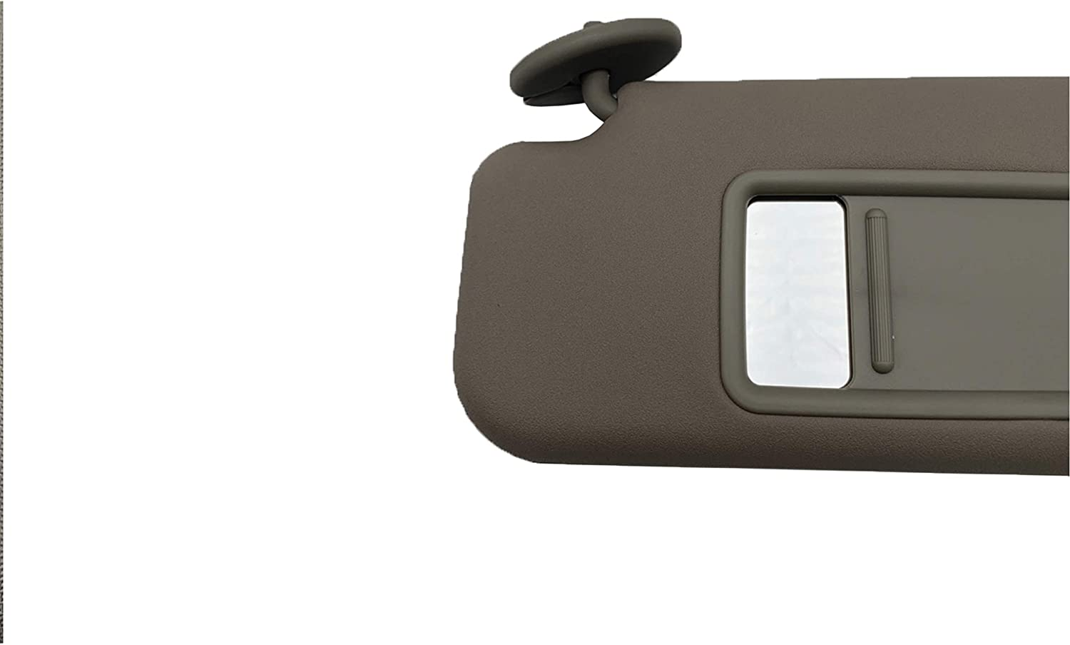 SAILEAD Left Driver Side Sun Visor for Toyota 4Runner 2004-2008 74320-35A91-E1 Beige