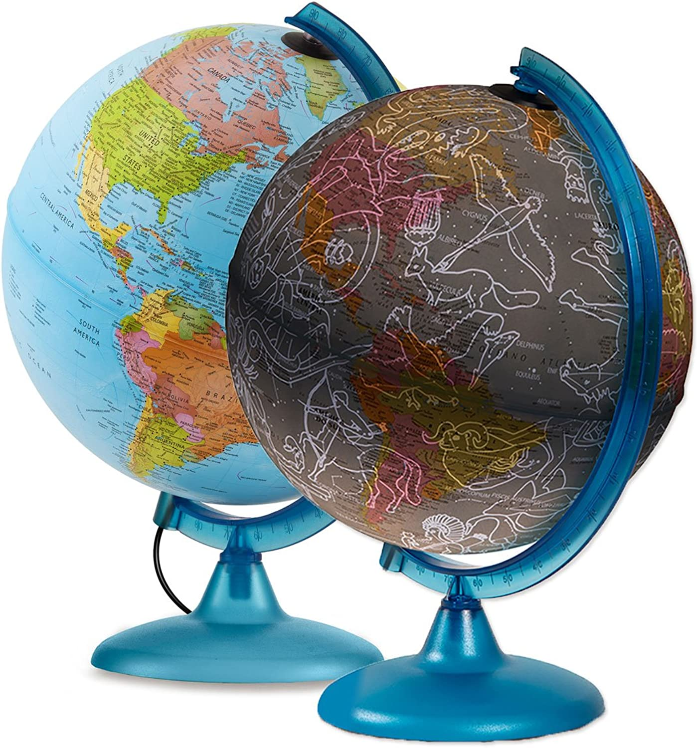 Waypoint Geographic Earth & Sky 2 in 1 Exploration Globe World, 10