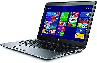 2018 HP EliteBook 840 G2 14in HD Laptop Computer, Intel Core i5-5200U up to 2.70GHz, 8GB RAM, 180GB SSD, Bluetooth 4.0, WiFi, Windows 10 Professional (Renewed)