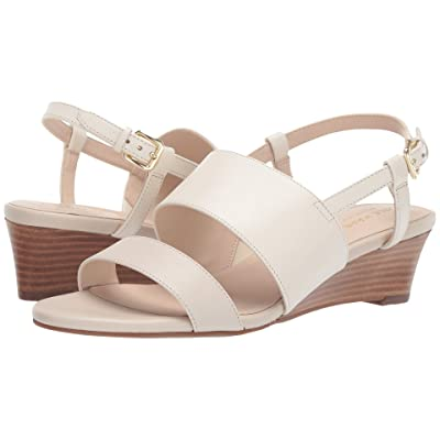 Cole Haan Annabel Grand Wedge Sandal (Ivory Pumice Stone) Women