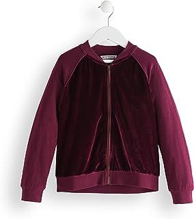 Marca Amazon - Red Wagon Velvet Bomber, Chaqueta para Niñas