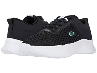 Lacoste Kids Court-Drive 0120 1 SUC (Little Kid) (Black/White) Kid