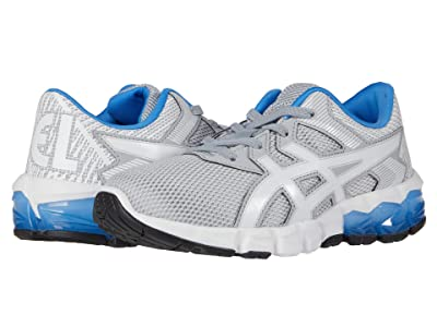 ASICS Kids GEL-Quantum 90 2 (Toddler/Little Kid) (Piedmont Grey/White) Boy