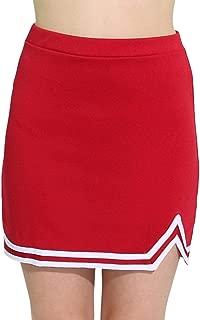 Womens Big Kid Double V A-Line Cheer Uniform Skirt