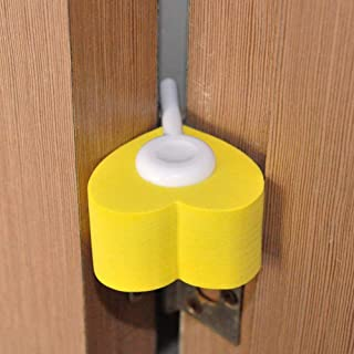 Newin Star Protección para tirador de puerta Protector para la seguridad de los niños para tirador de espuma para tiradores de puertas o ventanas 14 2.2 cm beige 2pcs