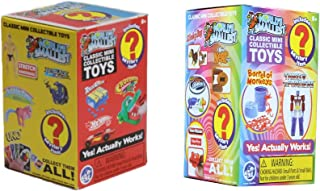 Worlds Smallest Classic Novelty Toy Surprise Boxes - Series 3 - Series 4 - Bundle Set of 2