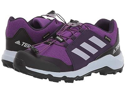adidas Outdoor Kids Terrex GTX (Little Kid/Big Kid) (Active Purple/Aero Blue/True Pink) Girls Shoes