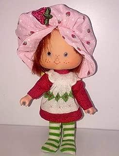 1979 Strawberry Shortcake Vintage Doll 5 Inches Tall Original Clothing