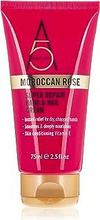 Arganplus Moroccan Rose Super Repair Hand and Nail Cream 75 ml, Pack of 1