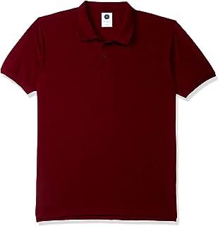 Amazon Brand - Symbol Men's Solid Regular Fit Polo