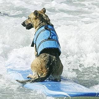 Dog Life Jacket Linkspe Vest Pet Saver Dog Beach Bathing Suit size Medium