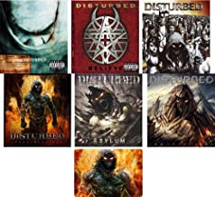 Disturbed Complete Studio Album CD Collection Years 2000-2015 with Bonus Art Card