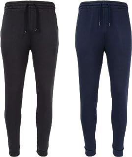 Sponsored Ad - UNIPRO Men's Two Pack Basic Athletic Casual Fleece Sweatpant Multi Pack Set Jogger