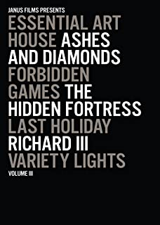 Essential Art House Volume III: (Ashes and Diamonds / Forbidden Games / The Hidden Fortress / Last Holiday / Richard III / And more)