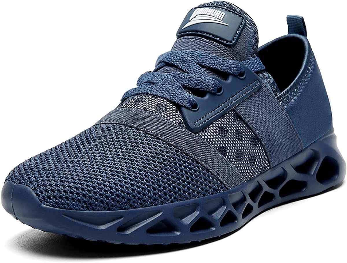 CAIQDM Women's Walking Shoes Running Shoes Women Fashion Sneakers Comfortable Athletic Tennis Lightweight Workout Blade Gym Shoes
