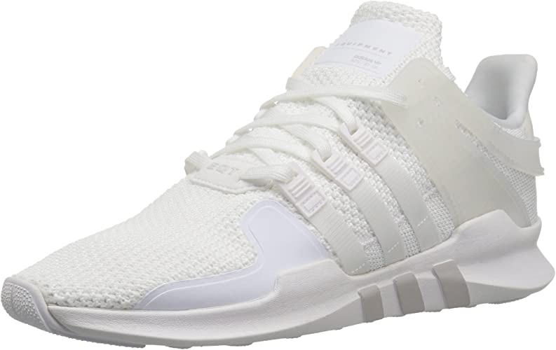 Adidas Originals Wohommes EQT Support ADV Running chaussures, blanc gris, 6.5 M US