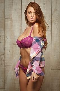 NewBrightBase Leanna Decker Sexy Girl USA Hot Star Fabric Cloth Rolled Wall Poster Print - Size: (36