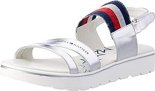 TOMMY HILFIGER Multi-Strap Velcro Sandal Girls Multi-Strap Velcro Sandal