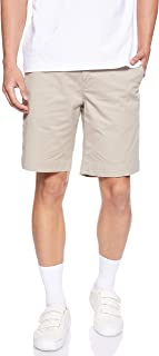 Ralph Lauren Men's Stretch Chino Short Classic Fit Hooded, Beige (Khaki Tan), 34