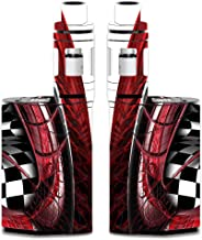 Decal Kid Skin for Smok GX350 - Sidewinder Red | Protective, Durable, Unique Vinyl Decal wrap Cover | Easy to Apply, Remove, and Change Styles and Change Styles