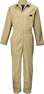 Natural Uniforms Mens Long Sleeve Coveralls Zippered