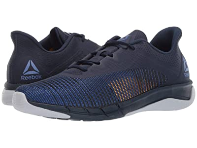 Reebok Fast Tempo Flexweave (Collegiate Navy/Crushed Cobalt/Cold Grey/Solar Gold) Men