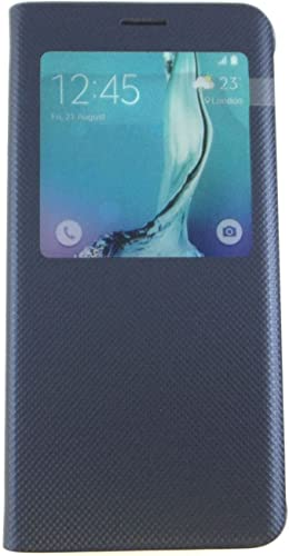 discount SAMSUNG Galaxy online S6 Edge+ S-View Flip Cover discount Blue EF-CG928PBEGUS outlet sale