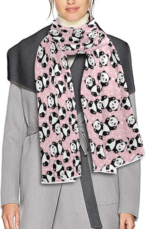 Scarf for Women and Men Cute Cartoon Panda Shawls Blanket Scarf wraps Warm soft Winter Long Scarves Lightweight